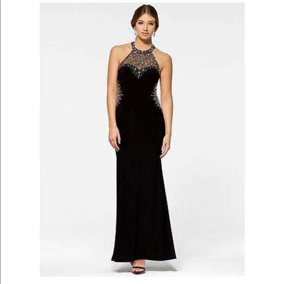 Cache Dresses & Skirts - Beaded Prom Gown